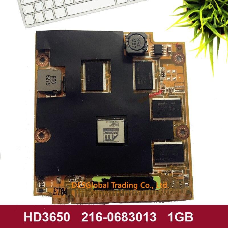 Original HD3650 For ASUS M70SA M50SA M70S M50 M50S M50SA X55SA F8SP F8V M86 DDR2 VGA 1GB Graphics Video Card 216-0683013
