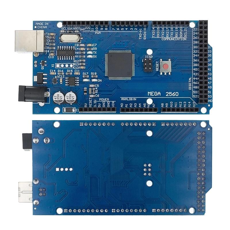 MEGA2560 Mega 2560 R3 (ATmega2560-16AU CH340G) Avr Usb Board (Lan) Voor Arduino 1