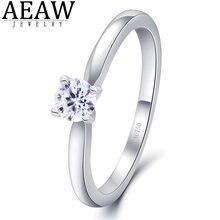Обручальное кольцо из муассанита 03 карат 40 мм
