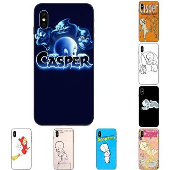 Soft TPU Phone Cover Case Casper & Friends For Apple iPhone 4 4S 5 5S SE 6 6S 7 8 11 Plus X XS Max XR Pro Max image