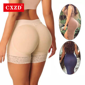 CXZD Panty Butt Briefs Padded Underwear Shapwear Hip-Enhancer Push-Up Fake Hip