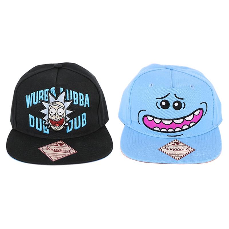 Rick And Morty Cap Mr. Meeseeks Snapback Hat Rick Snapback Hat