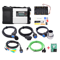 OBDII MB SD Connect Compact 5 Star C5 Full Set with V2020.3 HDD Software with Wifi For Truck Bus Unimog Car Diagnostic Tool