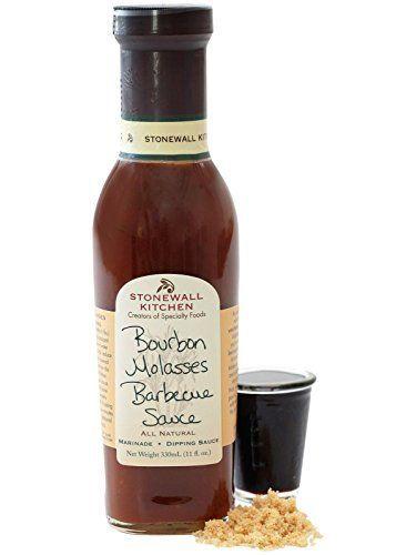 Stonewall Kitchen Bourbon Molasses Barbecue Sauce 330ml