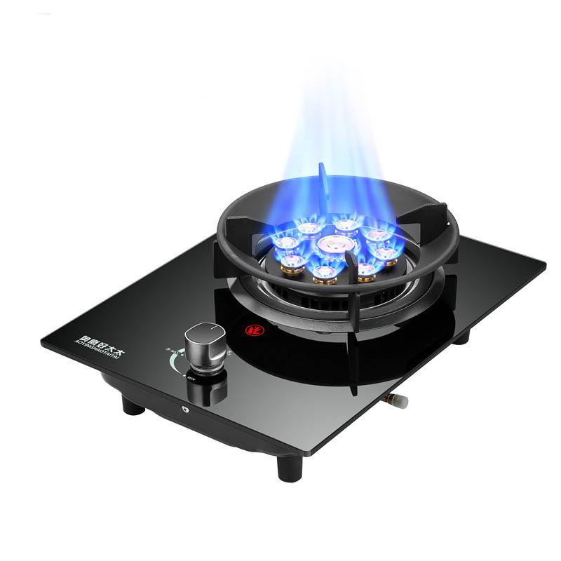Good wife Energy saving Gas stoves Single stove For home use Embedded Liquefaction furnace Fierce stove Multifunctional cooker Cooktops     - title=