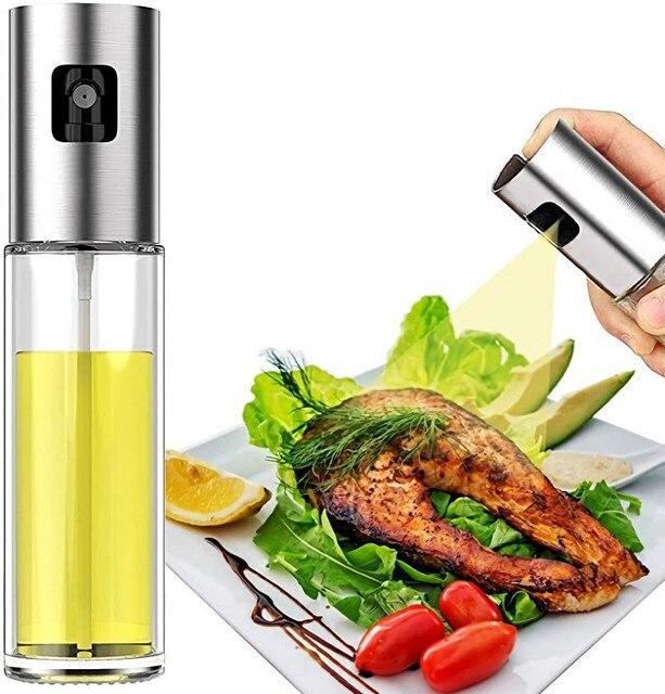 Пищевой стеклянный распылитель оливкового масла многоразовый