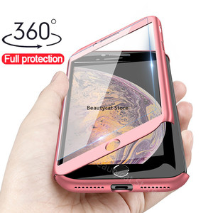 Роскошный стеклянный чехол с полным покрытием 360 градусов для Huawei P30 P20 Mate20 Lite P Smart Y7 Y6 PRO Y9 2019 Nova 3 3i 3E P10 P9, защитный чехол