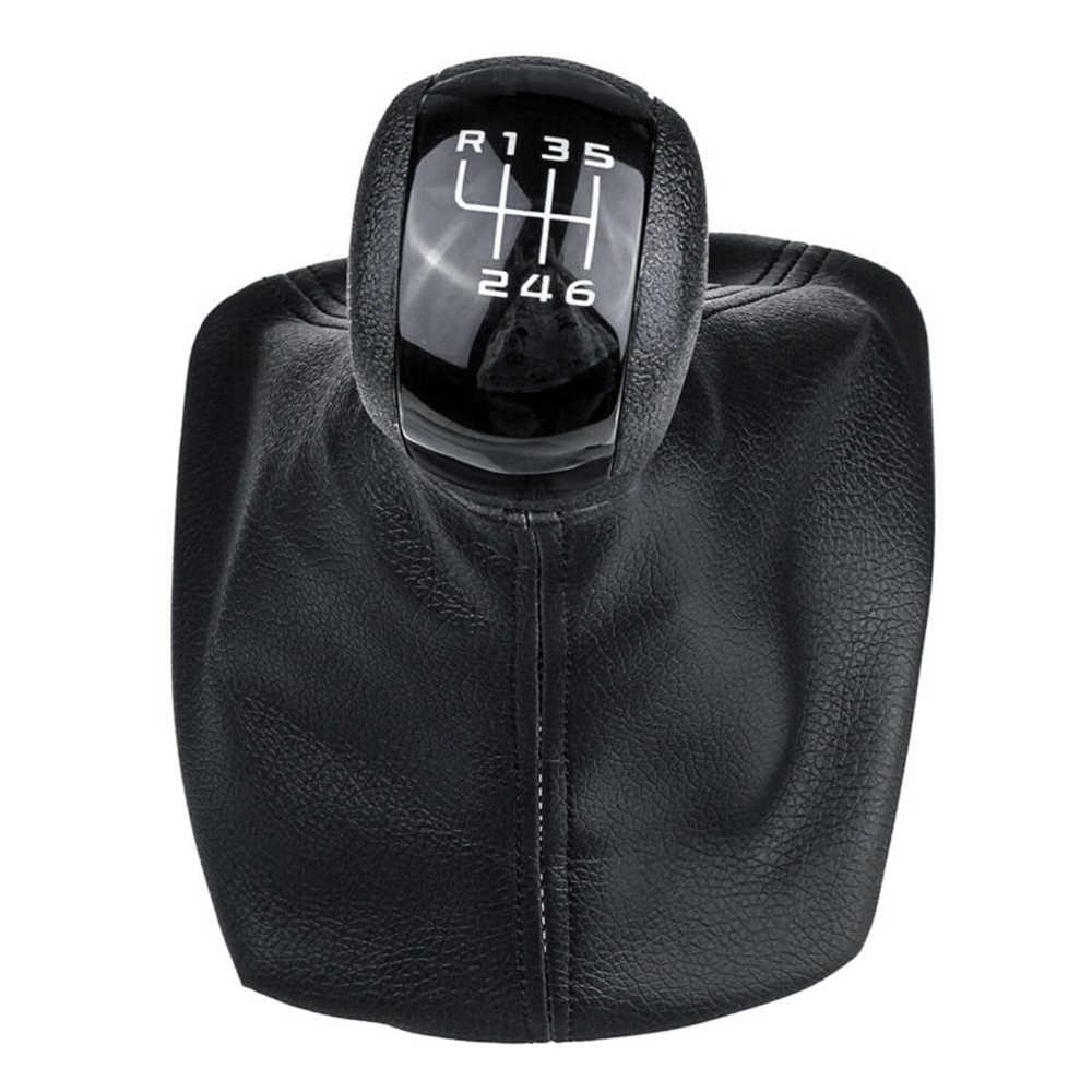 25.5cm 5/6 hız vites topuzu sopa körüğü teçhizat Skoda Octavia için MK2 iç parçaları değiştiren topuzlar