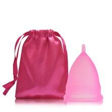 Feminine Hygiene Lady Cup Menstrual Cup Silicone Mestruale Coupe Menstruelle Moon Period Cup Copa Menstrual Cup Sterilizer