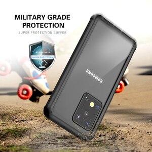 Image 2 - Ngoài Trời Chống Bụi Chống Bụi Dành Cho Samsung Galaxy Note 20 S20 Plus Ốp Lưng Silicone Mềm Dành Cho Samsung S20 cực Vỏ