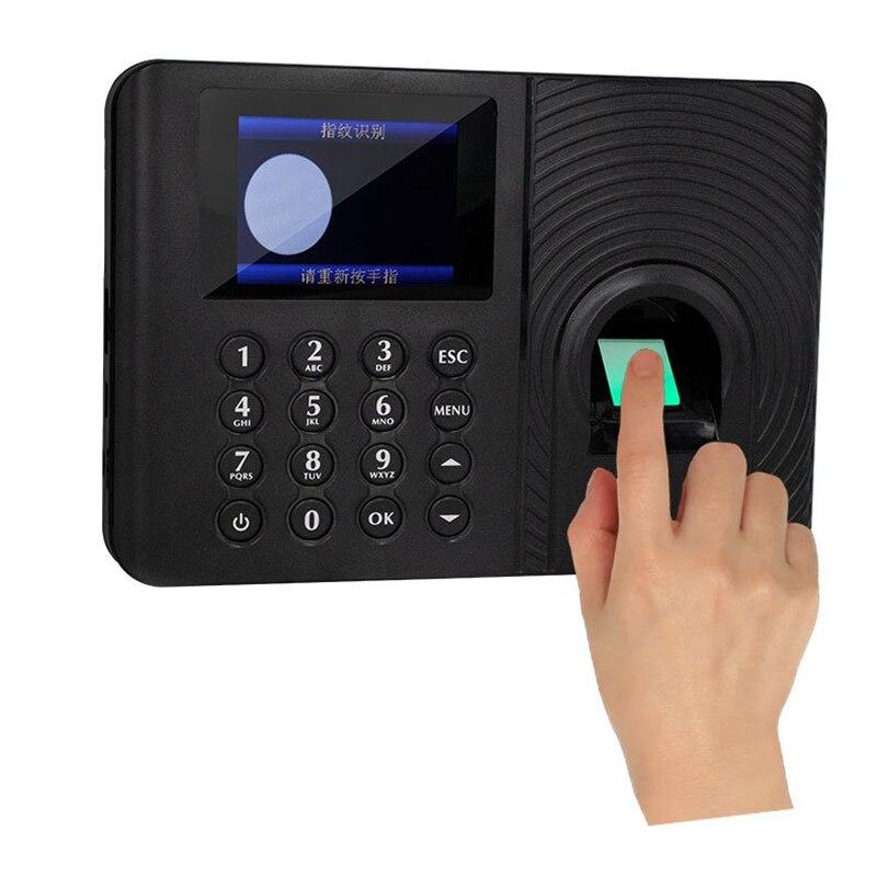 A10 טביעות אצבע זמן נוכחות מערכת שעון מקליט הכרה עובד הקלטת מכשיר אלקטרוני מכונת (איחוד אירופי תקע)