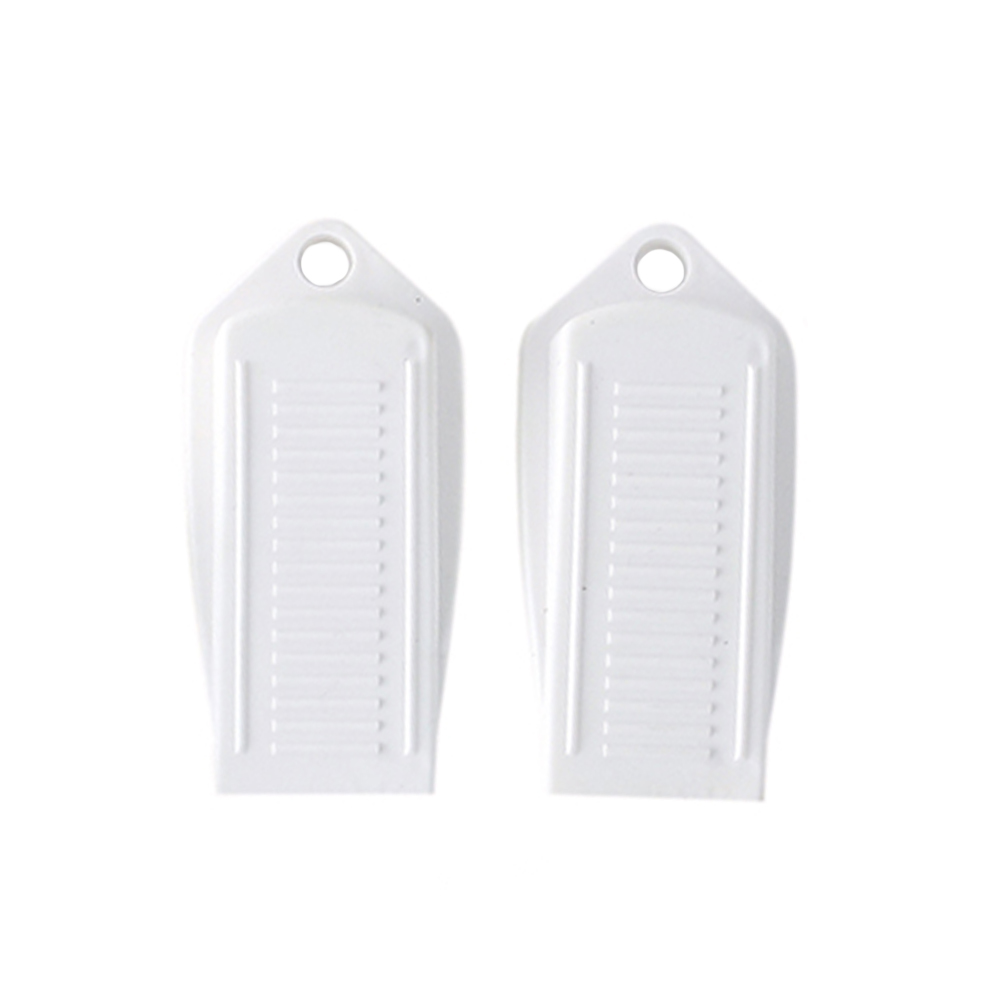 2pcs High Quality Rubber Door Stopper Baby Kids Safety Gate Protection Door Guard Anti Skid Stop Wedge Holder