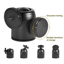 1 Pcs Tripod Ball Head 360 Degree Rotatable Accessories Portable for SLR Camera OUJ99