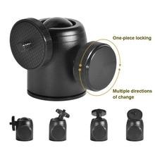 1 Pcs Tripod Ball Head 360 Degree Rotatable Accessories Portable for SLR Camera OUJ99