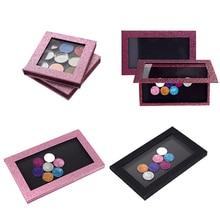 Empty Magnetic Makeup Palette DIY Eyeshadow Concealer Case Holder Packing tray