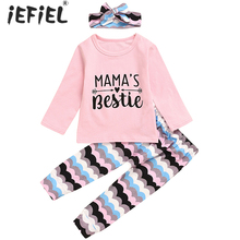 Baby Girl Clothes Sets Spring Autumn Newborn Kids Sleepwear Long Sleeve T-Shirt Tops+Flowers Pants Outfits Casual Baby Pajamas