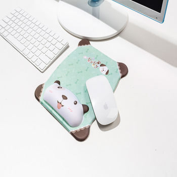 Cute Mouse Pad With Wrist Protect For Computer Laptop Notebook Keyboard Mouse Mat Comfort Silicone Mouse Pad Gaming Accessories 3