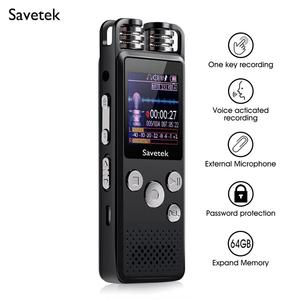 Image 1 - Professional Voice Activated Digital Audio Voice Recorder 8GB 16GB 32G USB Pen Non Stop 80hr Recording PCM Support TF Card