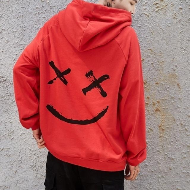 Oversized Smile Hoodies 6