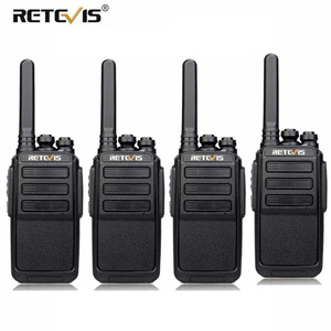 4 PCS RETEVIS RT28 Walkie Talkie PMR Radio VOX PMR446/FRS Micro USB Charging Portable Mini Two Way Radio Station Transceiver