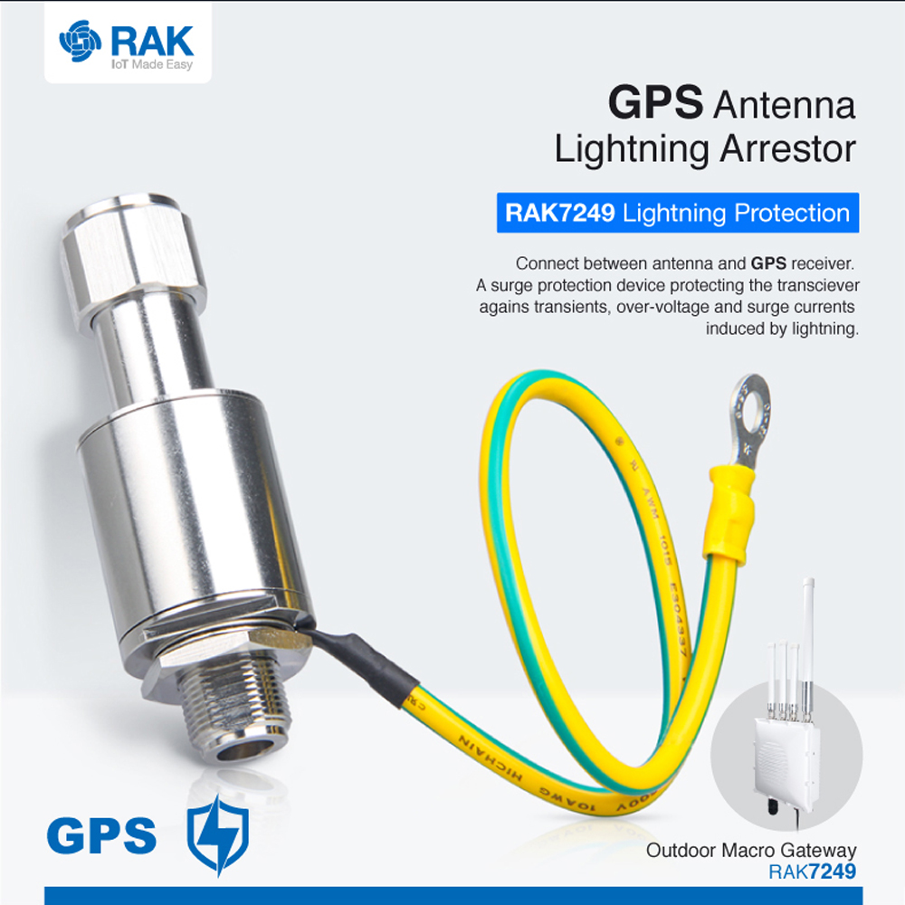 Lightning Arrestor For TheGPS Antennas.For Outdoor Surge Protection System
