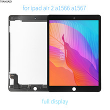 9.7'' a1567 a1566 lcd display assmebly replacement For ipad air 2 lcd touch screen digitizer complete