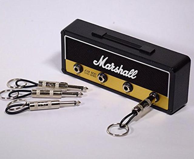Key Storage Marshall Guitar Keychain Holder Jack II Rack 2.0 Electric Hanging Key Rack Amp Vintage Amplifier JCM800  Standard