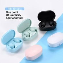 BOHM A6S TWS Bluetooth 5,0 Kopfhörer Drahtlose Kopfhörer Stereo Headset sport Earbuds mikrofon mit lade box für smartphone
