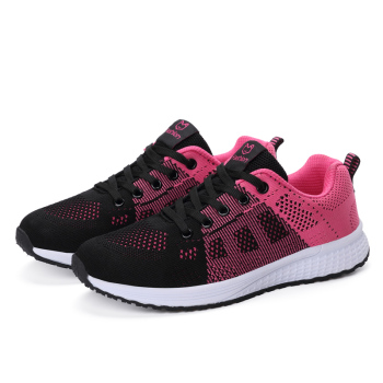 New Women Shoes Flats Fashion Casual Ladies Shoes Woman Lace-Up Mesh Breathable Female Sneakers Zapatillas Mujer Feminino