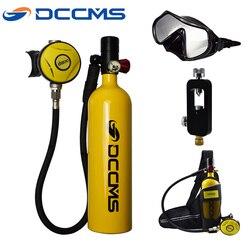 DCCMS 1000ml mini tauchen sauerstoff tank scuba tauchen ausrüstung rettungs sauerstoff tank