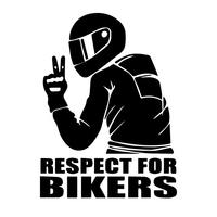 sticker motorcycle Universal Funny Car Stickers 3D Reflective Motorcycle helmet sticker Hood Decals Cool Design Car Accessories (1)