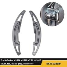 Shift Paddle Steering-Wheel Car-Accessories BMW for M3 M4 M5 M6 M7 Interior Aluminium