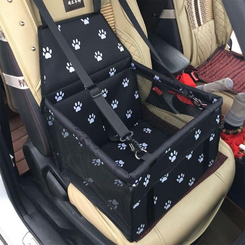 À prova dwaterproof água pet cão assento do carro capa de viagem portador do cão ao ar livre seguro assento cesta gato filhote de cachorro saco de viagem malha sacos de suspensão