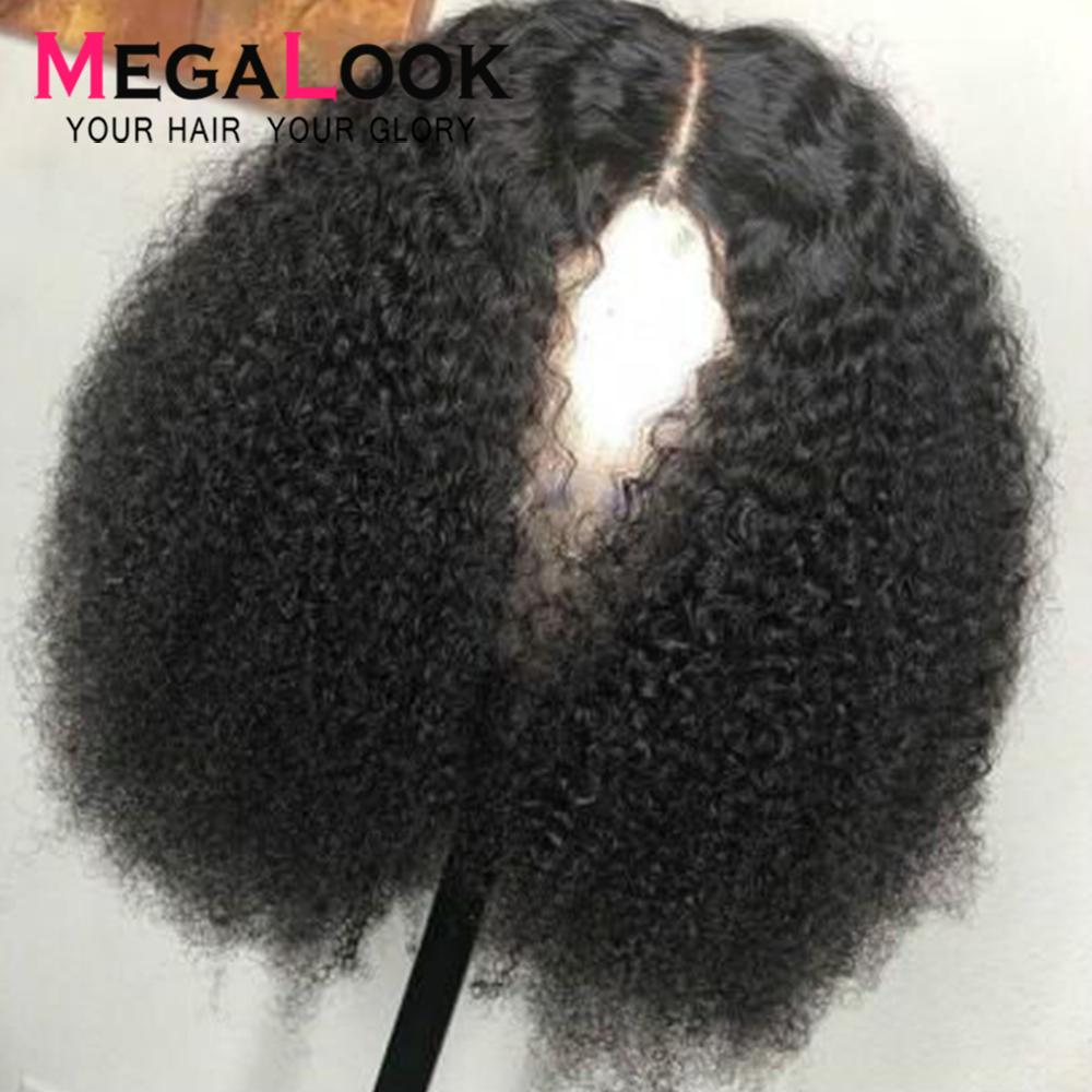 Kinky Curly Wig Human Hair Wigs Pre Plucked Remy Peruvian Wigs Glueless 180 Lace Front Human Hair Wigs Lace Front Wig