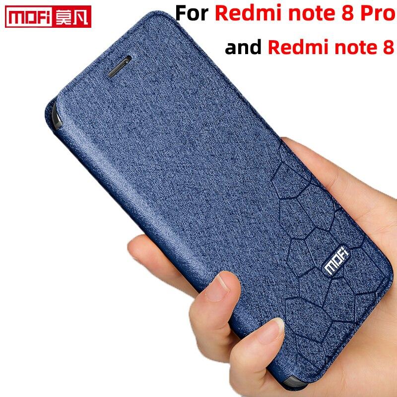 case for xiaomi redmi note 8 pro flip case Redmi Note 8 Cover leather book stand