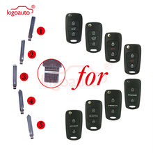 Автомобильный ключ kigoauto 81996 2k000 #1 #2 #3 #4 #5 откидной