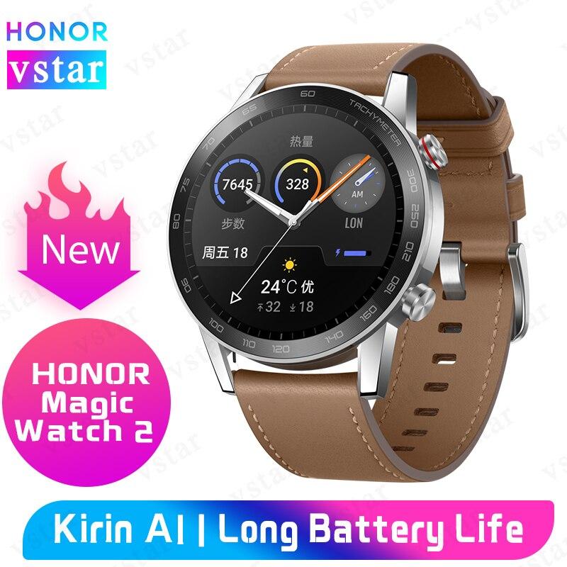 Original HONOR MagicWatch 2 Smart Watch blood oxygen Kirin A1 Heart Rate Tracker HONOR Watch Magic 2 on AliExpress