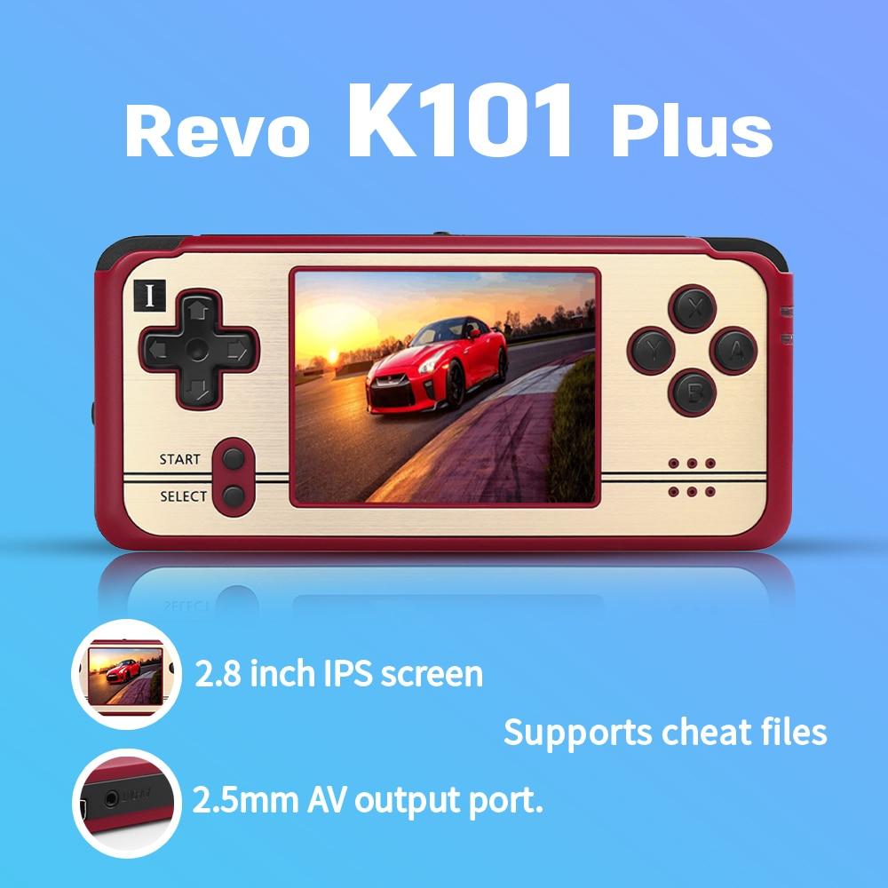 С открытым исходным кодом, ретро игра Revo K101 Plus, Ретро ручной 64 бит игровой плеер с поддержкой подключения телевизора