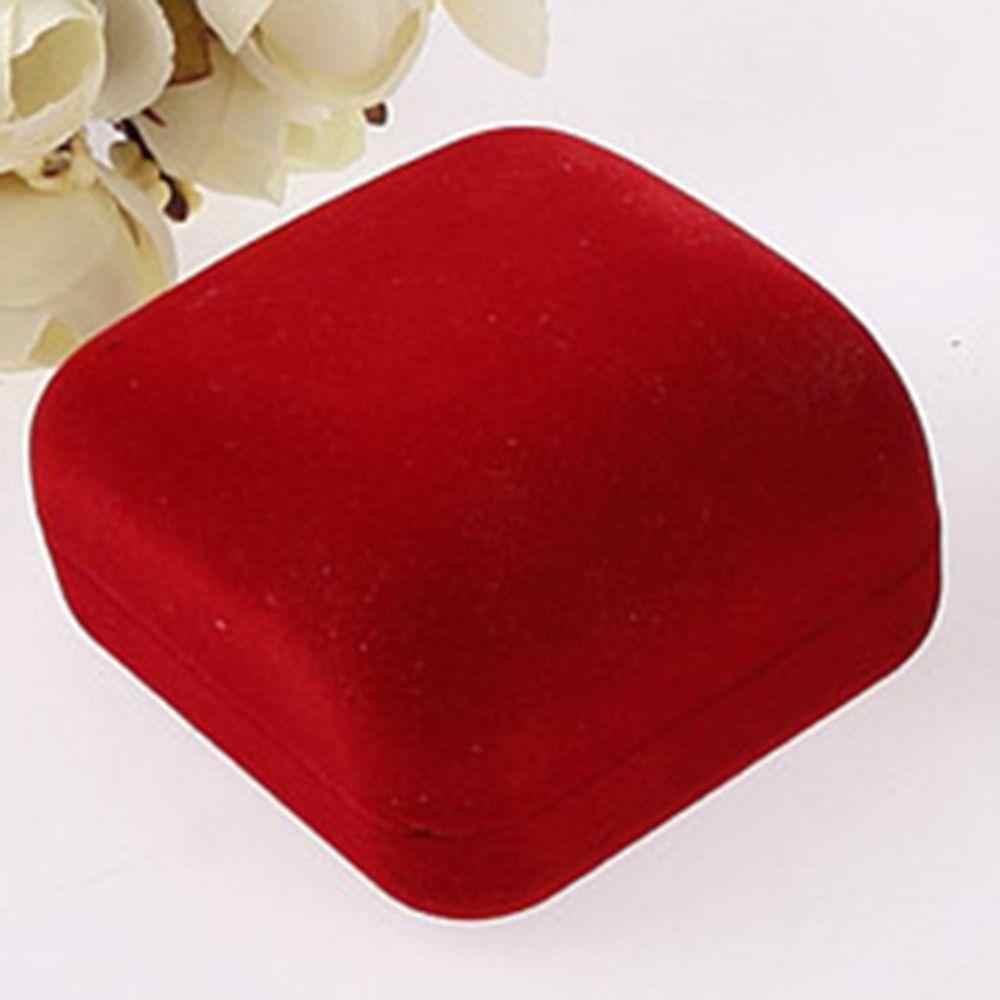5,8*5,3*3,5 cm Hohe Qualität Jewery Organizer Box Ringe Lagerung Box Kleine Geschenk Box Für Ringe Ohrringe schmuck Verpackung & Display