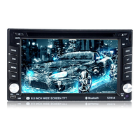 2 Din 6.5 Free Shipping Radio Cassette Player Car Radio Bluetooth Stereo Touch Screen DVD/CD Player Autoradio USB/SD/AUX