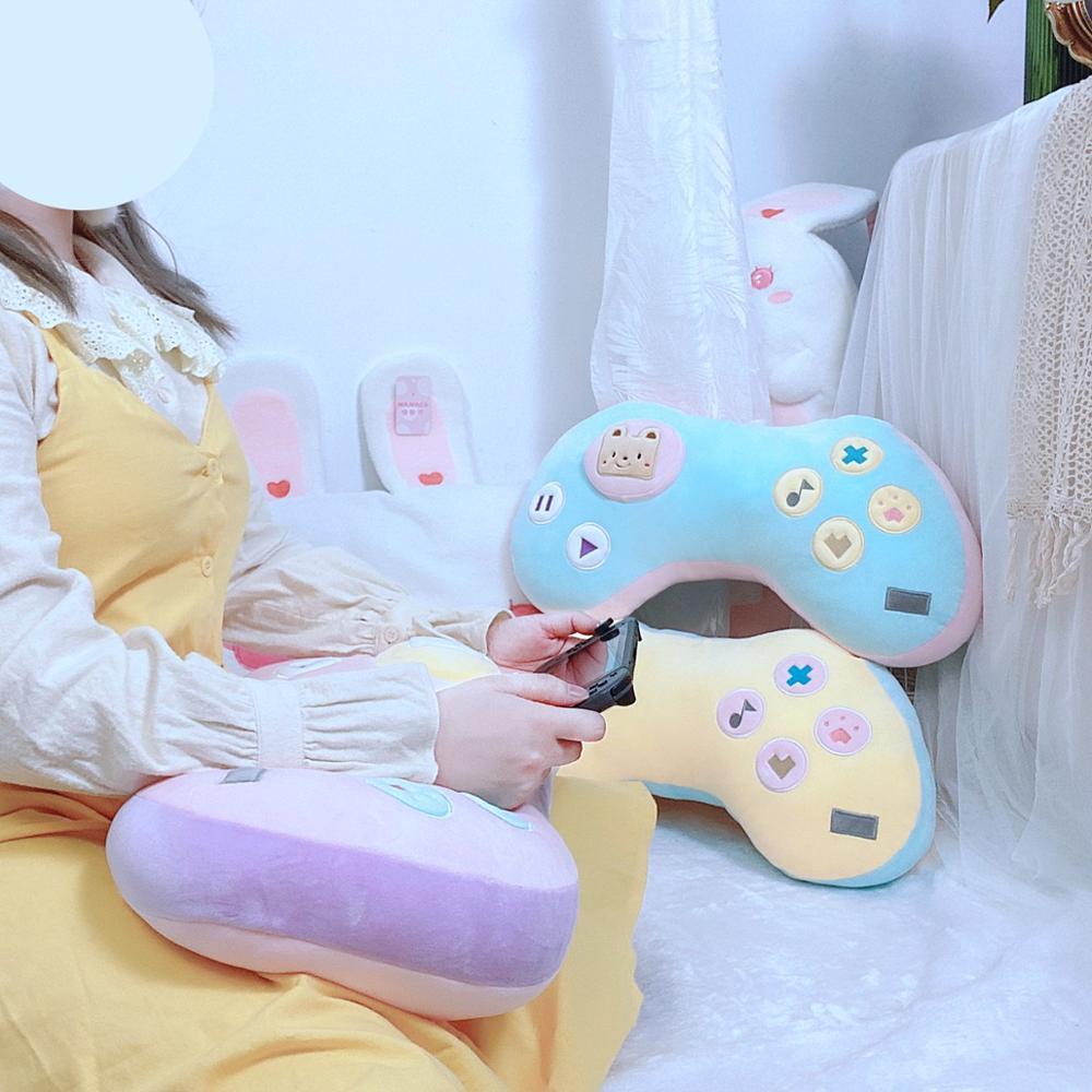 Kawaii Game Console Controller Pillow Plush 4