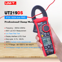 UT219DS industrial Clamp Meter;Digital Multimeter AC DC volt current meter;3 phase motor sequence Test/LoZ Test/Low pass filter