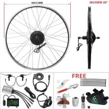 YOSE POWER Ebike Motor Wheel 36V 350W 28'' Rear Cassette Brushless Hub Motor Kit Electric Bicycle Conversion kit velo electrique(China)