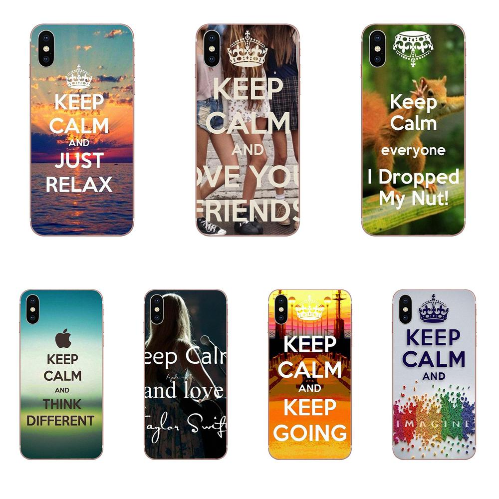 Keep Calm Don For Xiaomi Mi3 Mi4 Mi4C Mi4i Mi5 Mi 5S 5X 6 6X 8 SE Pro Lite A1 Max Mix 2 Note 3 4 Soft TPU Phone Skin image
