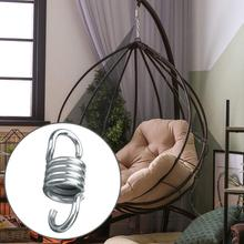 1 pcs stainless steel hammock accessory high strength spring hanging basket spring hanging plate bull head hook universal hook