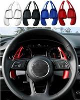 2Pcs Car Steering Wheel Shift Paddles Aluminum Shift Paddles Extension For Audi A3 A4L A5 S3 S4 Q2 Q5 Q7 Car Accessories