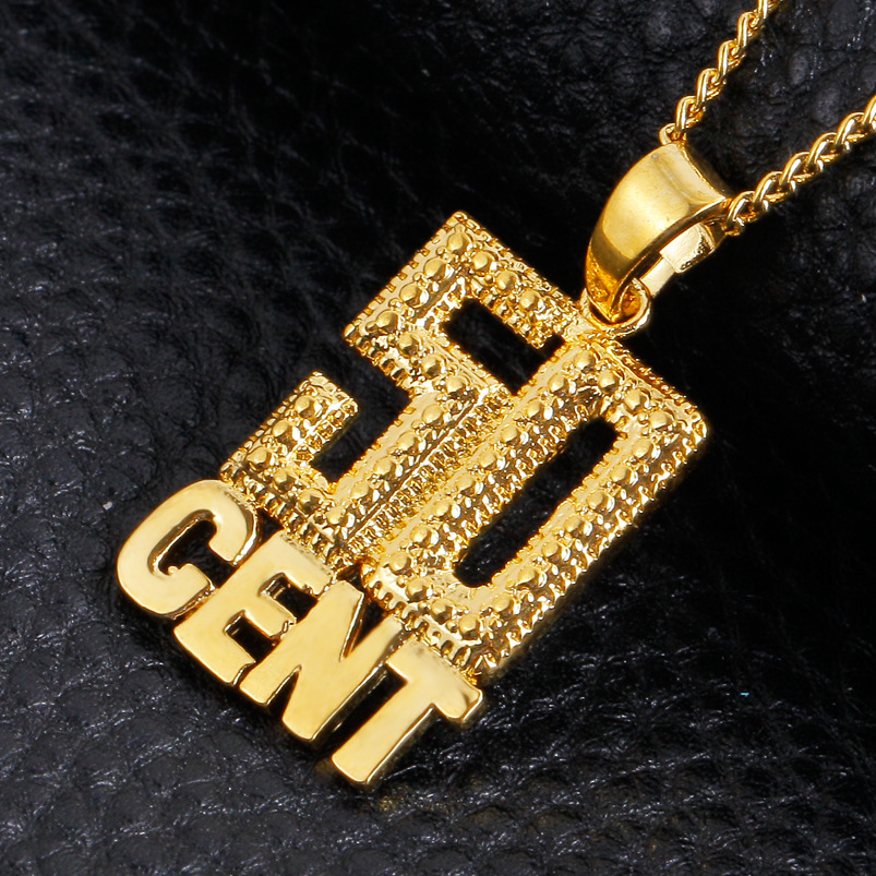 50 Cent Choker Pendent Necklace 4