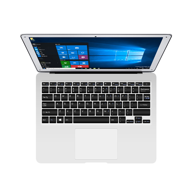 Hot Selling 2018 Amazon 13.3 Metal Laptop Intel Quad Core 13 Inch Laptop Computer Used With Mini Laptop Size