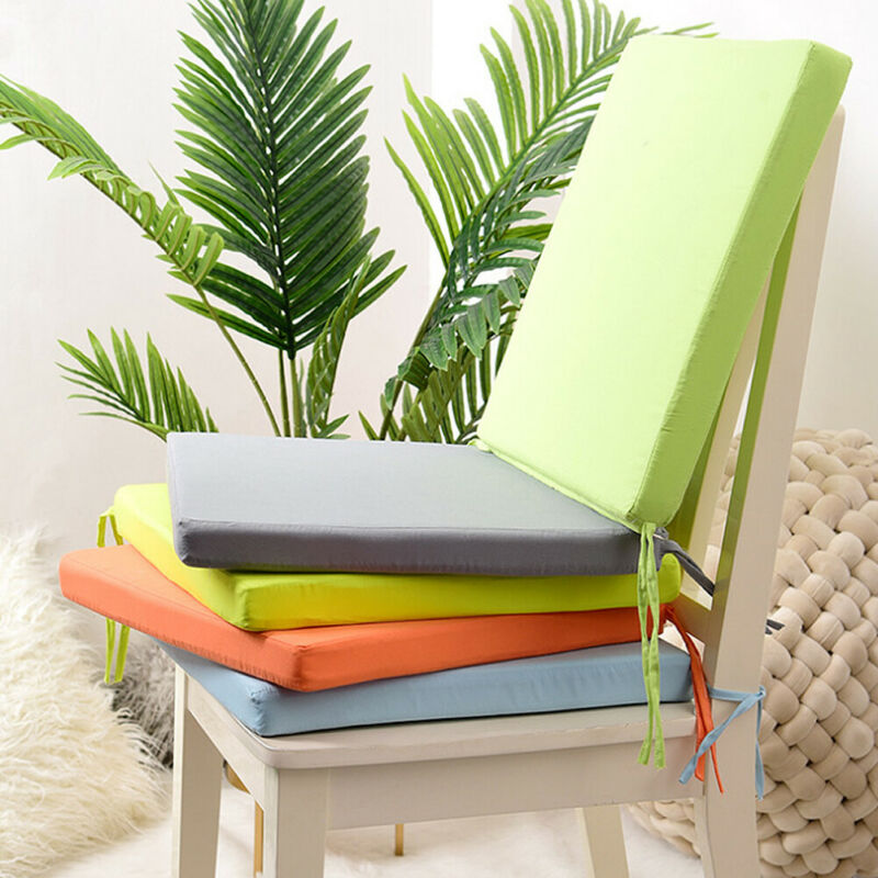 2-in-1Dining Waterproof Soft Chair Seat Pad Cushion Home Decor 40*40cm Removable Washable Waterproof Cushion Pillow 2019 NEW