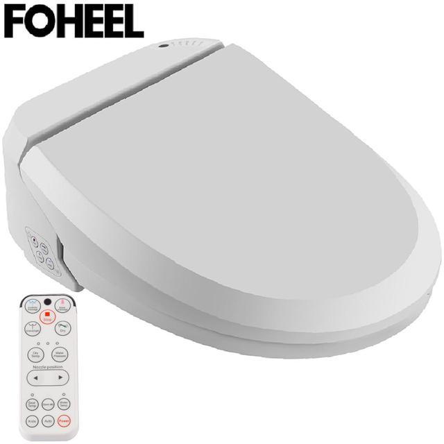 Foheel Intelligente Toiletzitting Elektrische Bidet Cover Bidet Warmte Schoon Droog Massage Slimme Toiletbril Voor Kind Vrouw De Oude